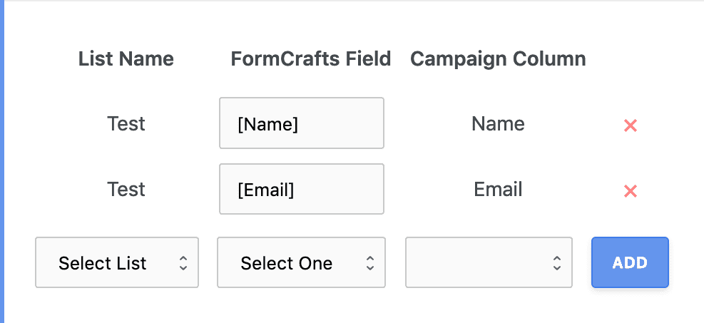 campaign monitor signup form