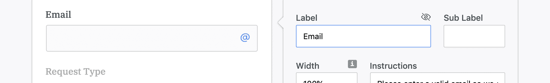form label accessibility