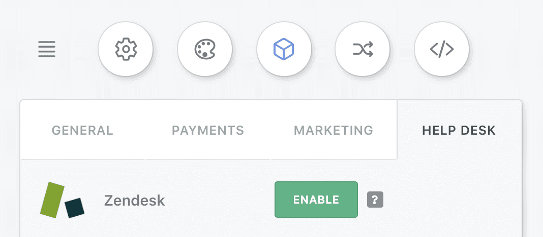 Enabling Zendesk to create ticket forms