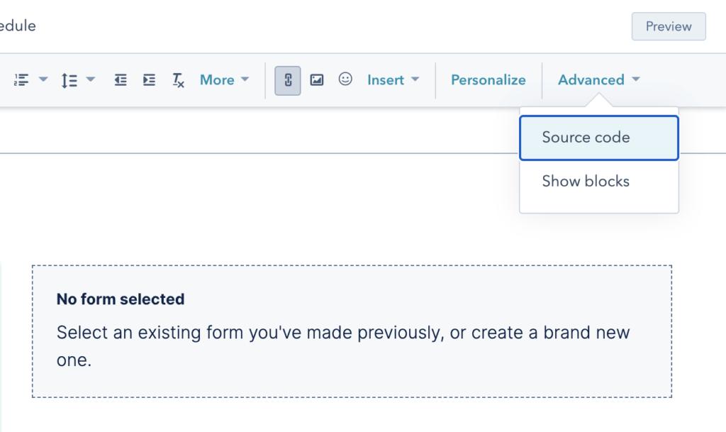 Embed non HubSpot form